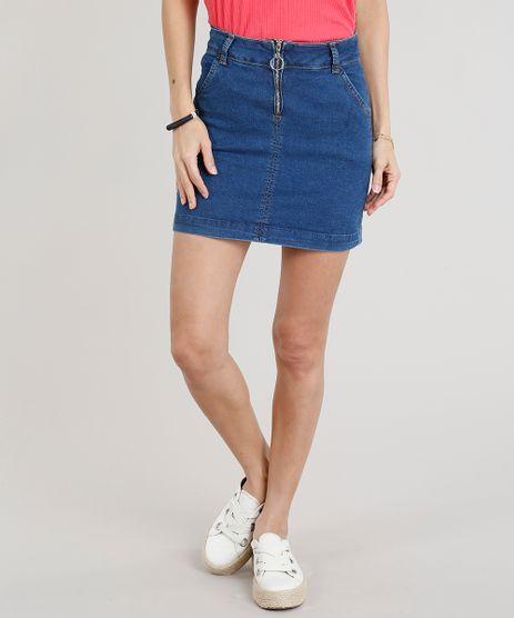 Saia-Jeans-Feminina-Evase-com-Barra-Desfeita-Azul-Marinho-9352638-Azul_Marinho_1