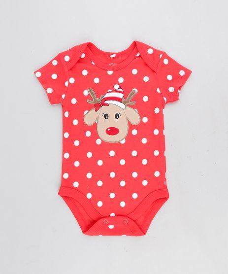 Body-Infantil-Rena-Estampado-de-Poa-Manga-Curta-Decote-Redondo-Vermelho-9110005-Vermelho_1