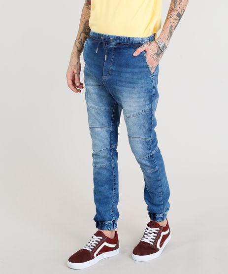 Calca-Jeans-Masculina-Jogger-Azul-Escuro-9328245-Azul_Escuro_1