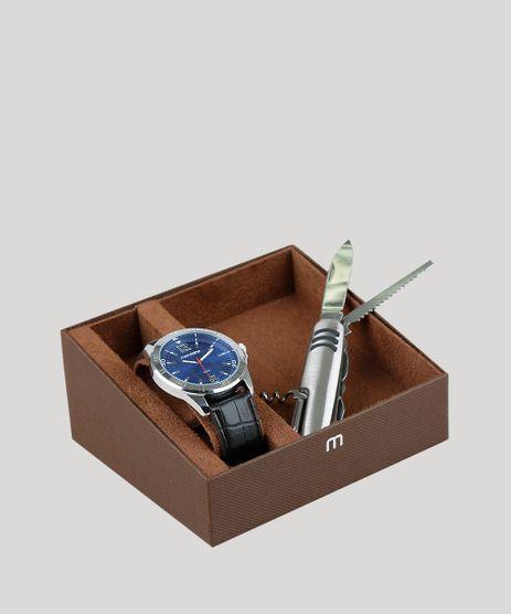 Kit-de-Relogio-Analogico-Mondaine-Masculino---Canivete---83444G0MVNH1KB-Prateado-9377606-Prateado_1