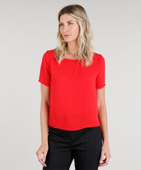 Blusa-Feminina-Manga-Curta-Decote-Redondo-Vermelha-8644130-Vermelho_1