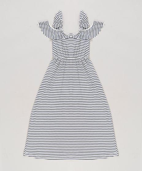 Vestido-Longo-Infantil-Open-Shoulder-Listrado-com-Babados-Off-White-9304648-Off_White_1