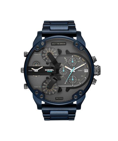 9a0a845d0ba Relógio Diesel Masculino Brave Blue Azul DZ7414 1AN - cea