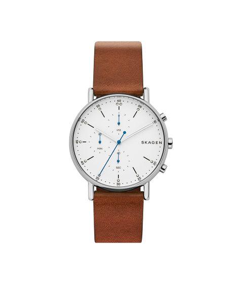 8cd781473d448 Relógio Skagen Masculino Signatur Prata - SKW6462 0MN - cea