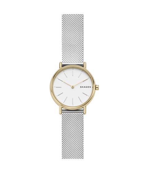 Relógio Skagen Feminino Signatur Dourado SKW2729 1KN - cea c53037f520