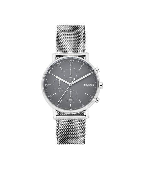 Relógio Skagen Masculino Signatur Prata - SKW6464/1PN