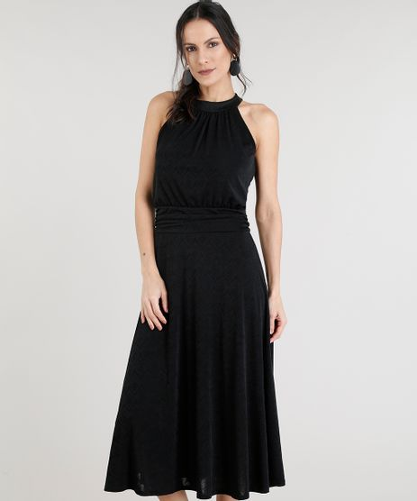 Vestido-Midi-Feminino-Halter-Neck-Preto-9318395-Preto_1