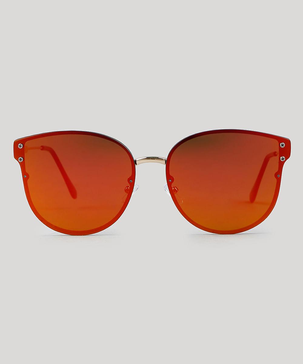 bba68c5ba94e6 ... Oculos-de-Sol-Quadrado-Feminino-Oneself-Dourado-8759628-