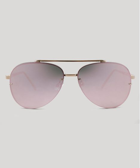 d06ad6ccb2b00 Oculos-de-Sol-Aviador-Feminino-Oneself-Dourado-9395376- ...