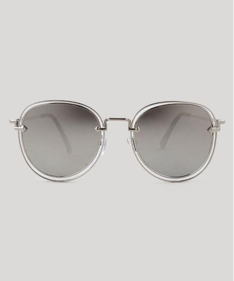 Oculos-de-Sol-Redondo-Feminino-Oneself-Prateado-9395289-Prateado_1