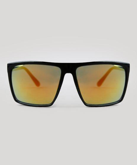 2088150e95529 Oculos-de-Sol-Quadrado-Feminino-Oneself-Preto-9395307-