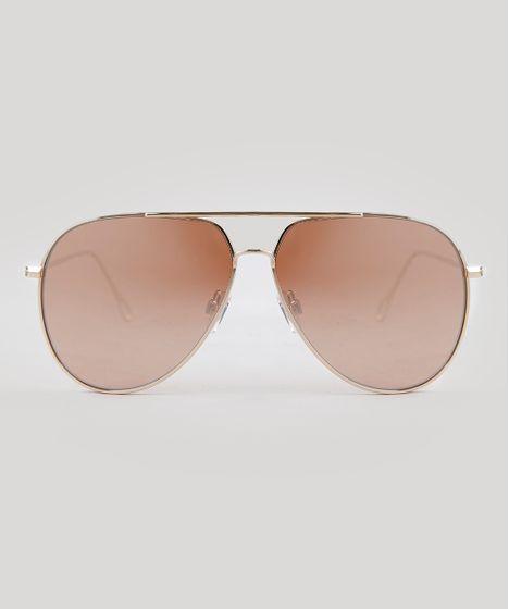 4f703b4dec20c Oculos-de-Sol-Aviador-Feminino-Oneself-Dourado-9395367- ...