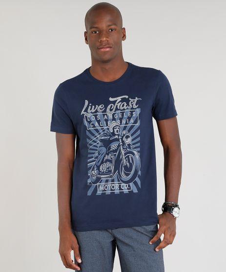 Camiseta-Masculina--Live-Fast--Manga-Curta-Gola-Careca-Azul-Marinho-9265806-Azul_Marinho_1