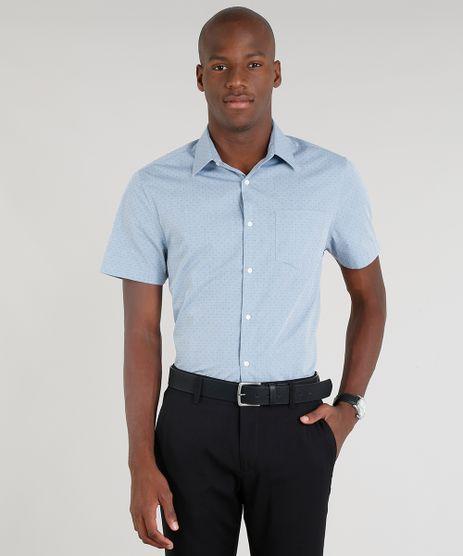 Camisa-Masculina-Comfort-Estampada-com-Bolso-Manga-Curta-Azul-Claro-9093245-Azul_Claro_1