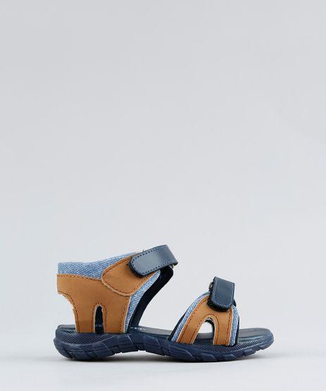Papete-Infantil-com-Velcro-Azul-Marinho-9325397-Azul_Marinho_1