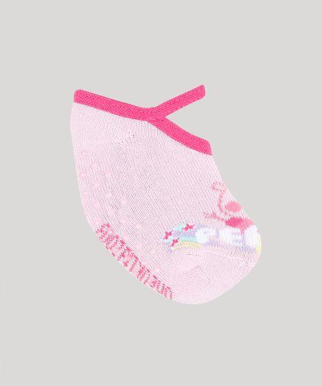 Meia-Infantil-Sapatilha-Peppa-Pig-Rosa-Claro-9337342-Rosa_Claro_1