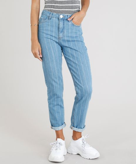 Calca-Jeans-Feminina-Mom-Pants-Listrada-Azul-Claro-9352637-Azul_Claro_1