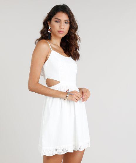 Vestido-Feminino-Curto-com-Recorte-em-Laise-Off-White-9252485-Off_White_1
