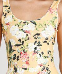 ... Vestido-Feminino-Curto-Estampado-Floral-Amarelo-9331371-Amarelo 1 8cf0177e90a6f