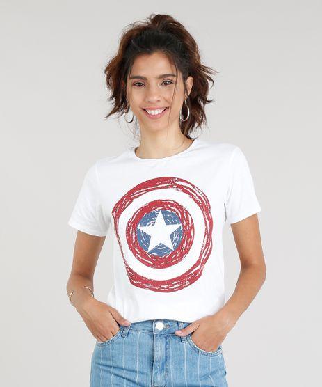 Blusa-Feminina-Capitao-America-Manga-Curta-Decote-Redondo-Off-White-9328865-Off_White_1