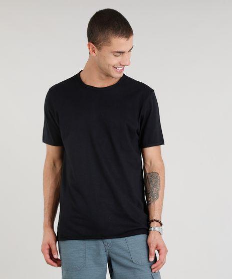 Camiseta-Masculina-Manga-Curta-Gola-Careca-Preta-9325858-Preto_1