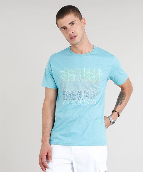 Camiseta-Masculina--More-Summer--Manga-Curta-Gola-Careca-Azul-Claro-9306216-Azul_Claro_1