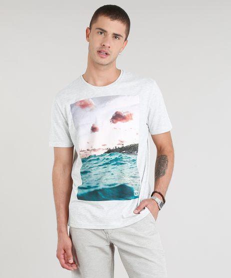 Camiseta-Masculina--Sea--Manga-Curta-Gola-Careca-Cinza-Mescla-Claro-9275863-Cinza_Mescla_Claro_1
