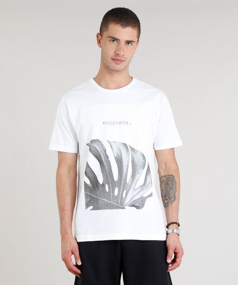 Camiseta-Masculina-Monstera-Manga-Curta-Gola-Careca-Off-White-9302123-Off_White_1