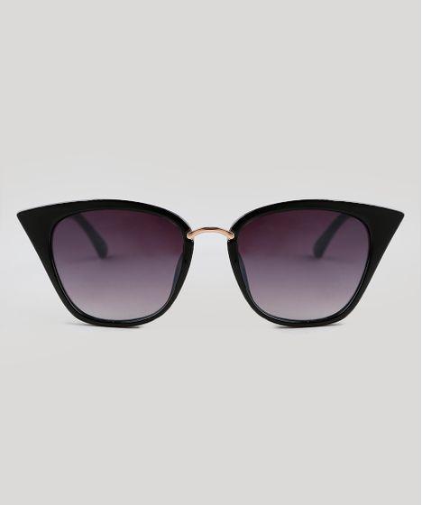 95063a29e Oculos-de-Sol-Gatinho-Feminino-Oneself-Preto-9351303- ...