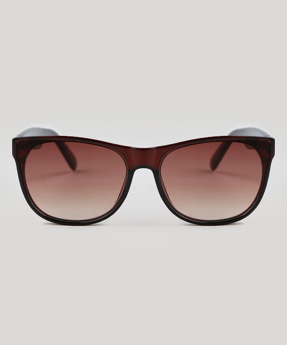 63e0844708ef8 Oculos-de-Sol-Quadrado-Feminino-Oneself-Marrom .