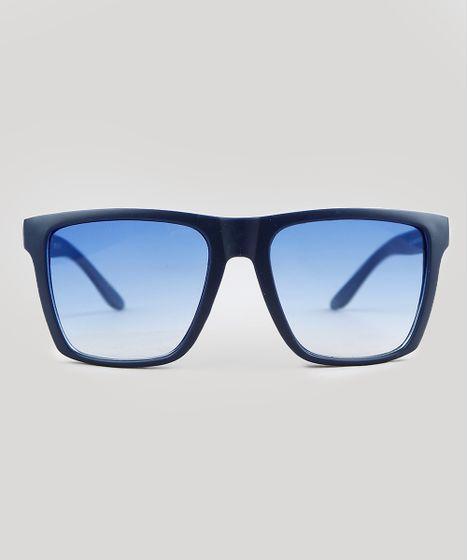 0f615af18e92f Oculos-de-Sol-Quadrado-Masculino-Oneself-Azul-9392425- ...