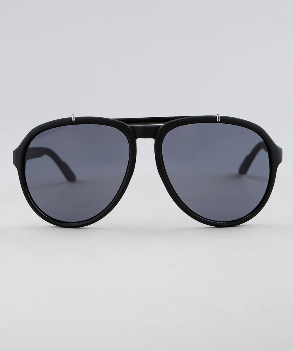 Óculos de Sol Aviador Masculino Oneself Preto - ceacollections 7668e8d133
