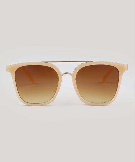 Oculos-de-Sol-Quadrado-Feminino-Oneself-Bege-9392476-Bege_1
