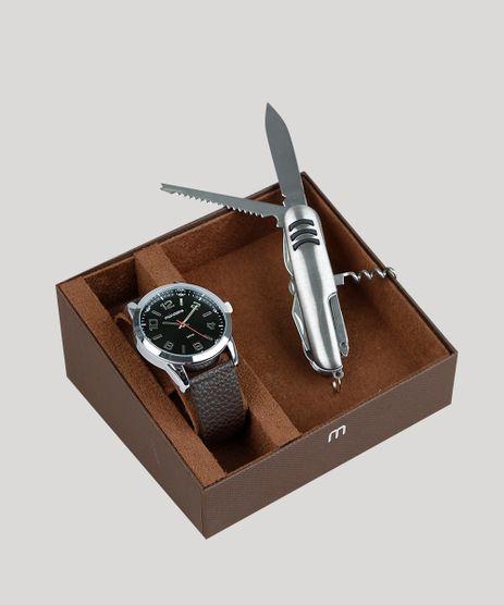 Kit-de-Relogio-Analogico-Mondaine-Masculino---Canivete---99071G0MVNH1KB-Prateado-9377634-Prateado_1
