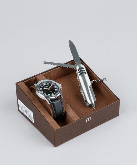 Kit-de-Relogio-Analogico-Mondaine-Masculino---Canivete---83405G0MVNH1KC-Preto-9377643-Preto_1
