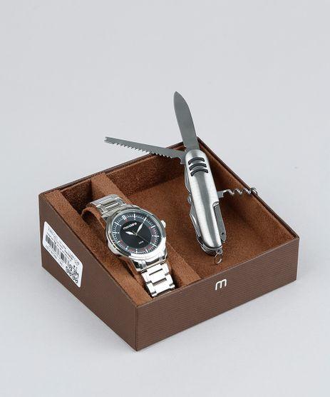 Kit-de-Relogio-Analogico-Mondaine-Masculino---Canivete---83424G0MVNA2K-Prateado-9377658-Prateado_1