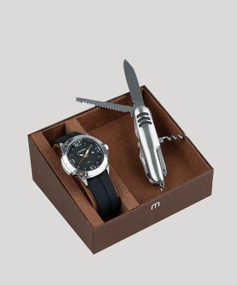 Kit-de-Relogio-Analogico-Mondaine-Masculino---Canivete---53666G0MVNI2K-Preto-9377649-Preto_1