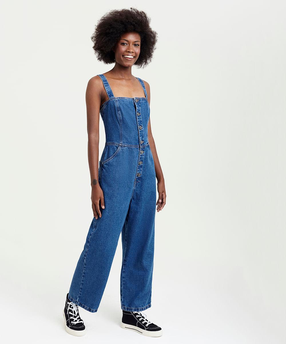 5e8147c2b6 ... Macacao-Jeans-Pantacourt-Feminino-Mindset-Azul-Escuro-9391045-