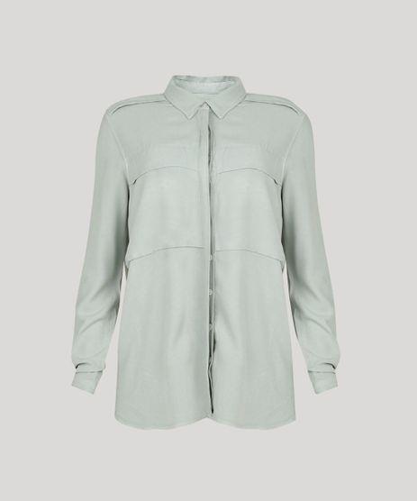 Camisa-Feminina-Oversized-Manga-Longa-Verde-Claro-9314311-Verde_Claro_2