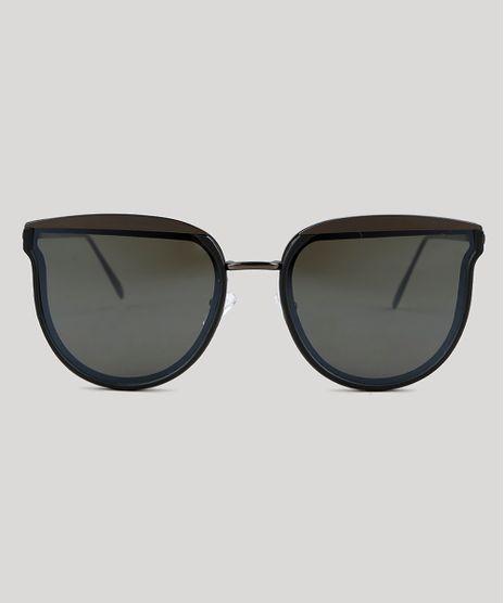Oculos-de-Sol-Redondo-Feminino-Oneself-Grafite-9351285-Grafite_1