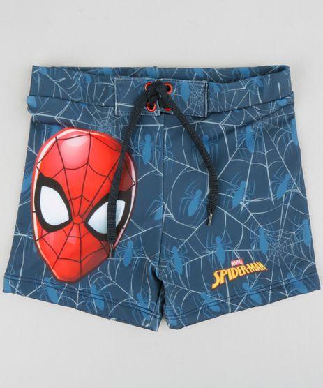 Sunga-Infantil-Boxer-Homem-Aranha-com-Cordao-Azul-9231714-Azul_1