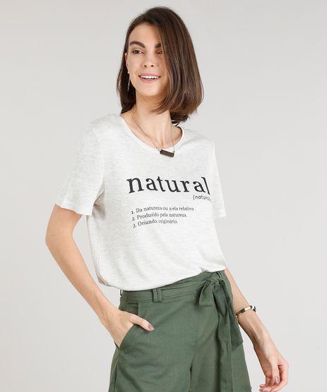 Blusa-Feminina--Natural--Manga-Curta-Decote-Redondo-Cinza-Mescla-9350071-Cinza_Mescla_1