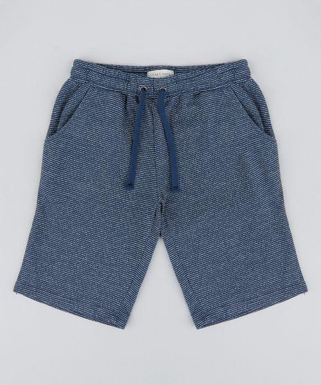 Bermuda-Infantil-Basica-Listrada-em-Moletom-Azul-Marinho-9198688-Azul_Marinho_1