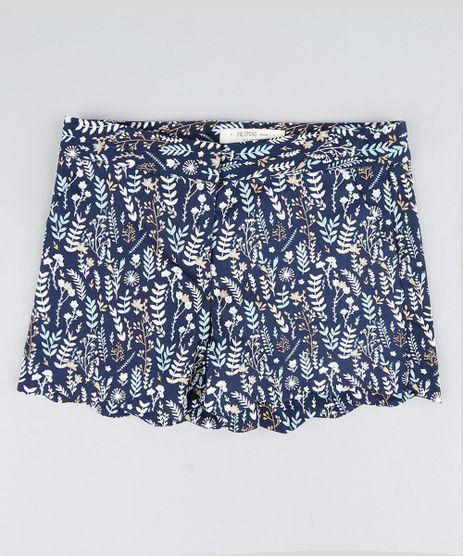 Short-Infantil-Estampado-de-Folhas-Barra-Ondulada-Azul-Marinho-9207225-Azul_Marinho_1