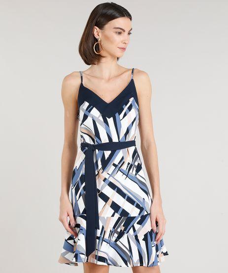 Vestido-Feminino-Curto-Estampado-com-Faixa-Alcas-Finas-Decote-V-Branco-9185832-Branco_1