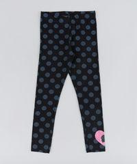 Calca-Legging-Infantil-Barbie-Estampada-de-Poas-Preta-9148183-Preto_1