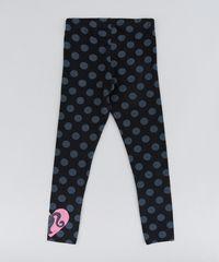 Calca-Legging-Infantil-Barbie-Estampada-de-Poas-Preta-9148183-Preto_2