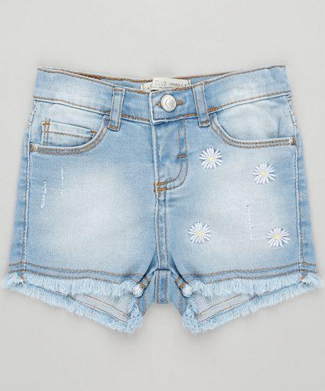 Short-Jeans-Infantil-Bordado-de-Margaridas-Azul-Claro-9333528-Azul_Claro_1