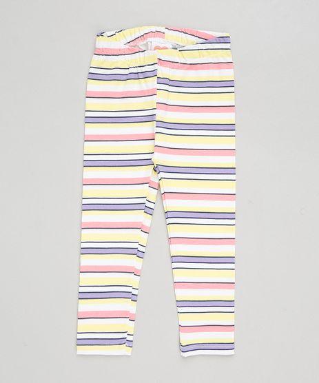 Calca-Legging-Infantil-Listrada-Amarela-9299162-Amarelo_1