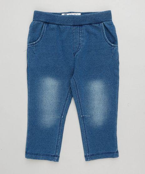Calca-Jeans-Infantil-em-Moletom-Azul-Escuro-9201532-Azul_Escuro_1